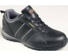 Tuffking 7750 SAMSON XL Black Leather Trainer