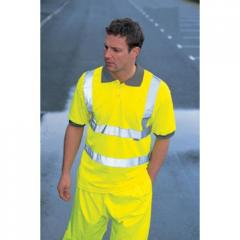 Dickies Hi Viz Safety Polo Shirt With Tape