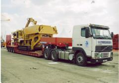 Hydraulic Neck Low Loaders