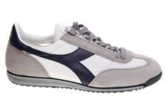Diadora Cross Trainers White/Blue