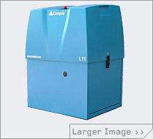 Lubricated screw air compressors CompAir L04-L22