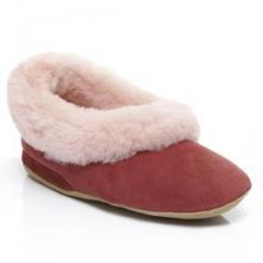 Ladies Ballerina Sheepskin Slipper