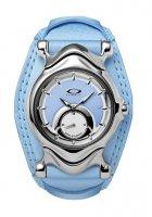 Oakley Jury Leather Watch Blue