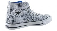 Converse All Star Hi-Cut Shoes White Black Strong