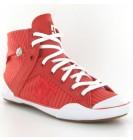 Dc Shoes Chelsea Zero Hi Se Red Womens Trainers