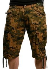 Chunk Shorts (Digital Camo) by Criminal Damage