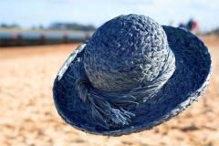 Blue Breton Hat