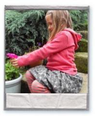 Lilac & Plum Striped Leggings