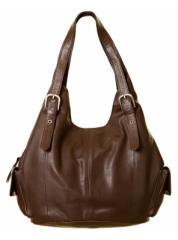 Buckle Leather Bag