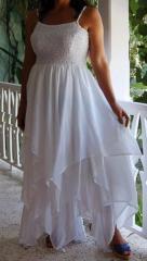 White Fairy Angel Strappy Dress