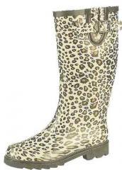Leopard Pattern Wellie