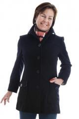 Hattie Boiled Wool Coat
