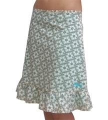 Animal Ladies Tasker Antique White Skirt