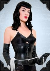 Gina Corset in Real Leather