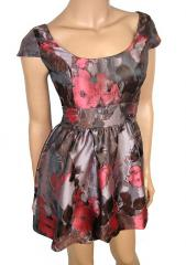 Ex UK Chainstore Petite Floral Print Puffball