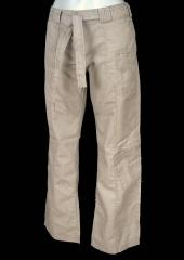 Ladies Full Length Belted Combat Trousers