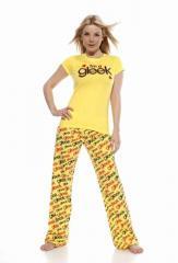 Yellow Glee Gleeks Pyjamas with diamantes