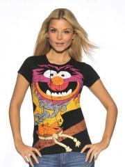 Black Muppets Animal T-Shirt