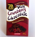 Dark Cranberry Chocolate