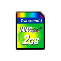 Transcend 2GB MMC Plus (Multi Media Card Plus)