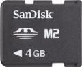 SanDisk 4GB Micro Memory Stick - M2