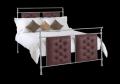 Ashby Chrome & Leather Bedstead