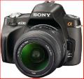Sony Alpha 230 with 18-55 lens