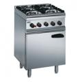 Lincat SLR6 4-Burner Gas Oven Range