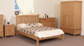 Darcy Wooden Bed