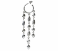 Flamenco Waterfall hoops