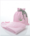 My Munchkin Organic Pink Towel