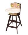 Wild Life Classic Comfort Reclining Wood High Chair