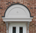 Arched Door Canopy