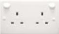 E series polycarbonate socket outlets