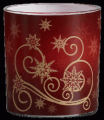 Christmas candle Snow Breeze