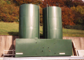 Vertical Open Bunded Storage Tank