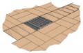 Aquadrain Flush Drainage Grating