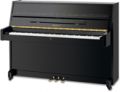 Bentley 108BP Upright piano (Black Polyester)