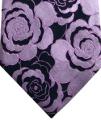 Simon Carter Purple Rose Silk Tie