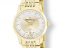Slim line gold Watch