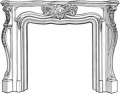 French Classical Fireplace