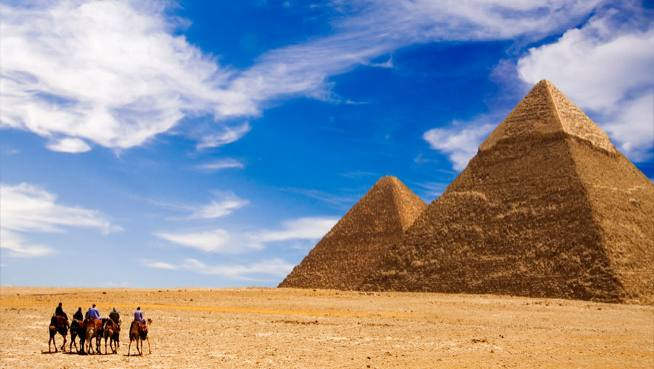 Order Pyramids & the Red Sea