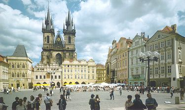 Order Vienna to Prague tour