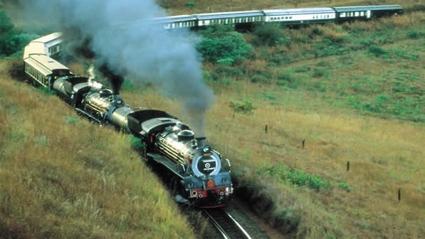 Order Luxury Train holidays