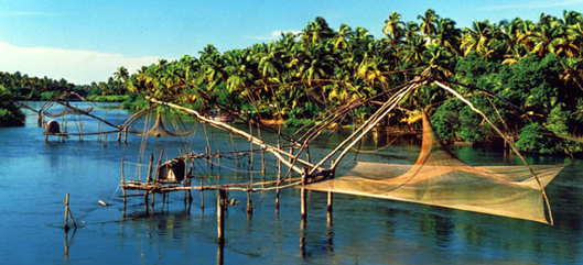 Order Beach and backwaters in Kerala tour