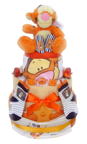 Order Tigger 3 Tier Nappy Cake