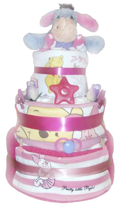 Order Eeyore Deluxe Nappy Cake