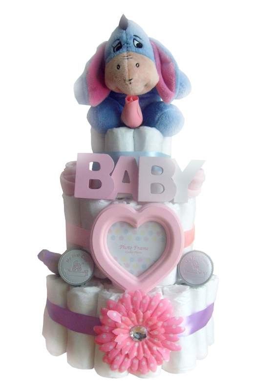 Eeyore Disney 3 Tier Nappy Cake