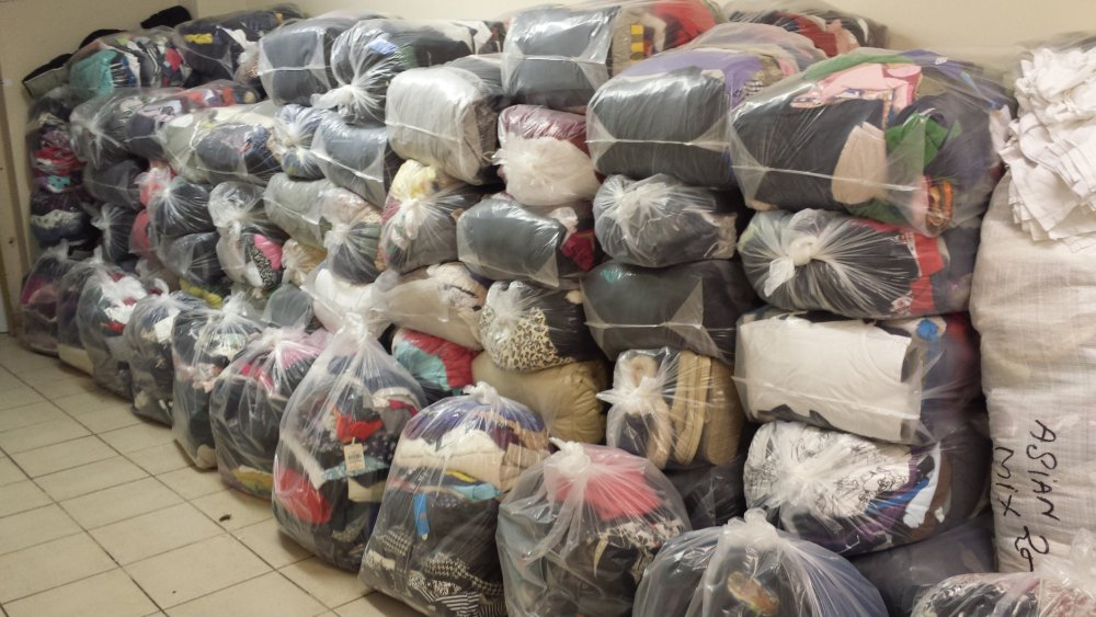 Order Used clothes collection