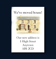 Order Moving Home Cards